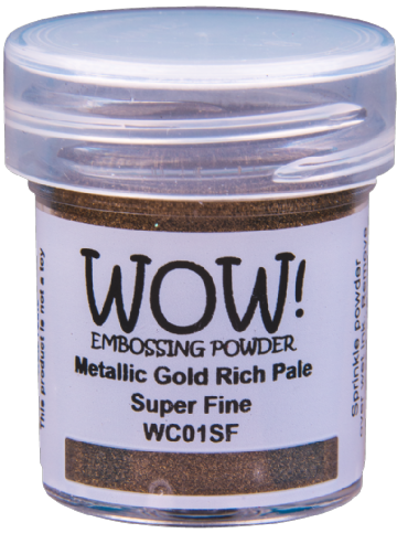 WC01 Metallic Gold Rich Pale (Large Jar)